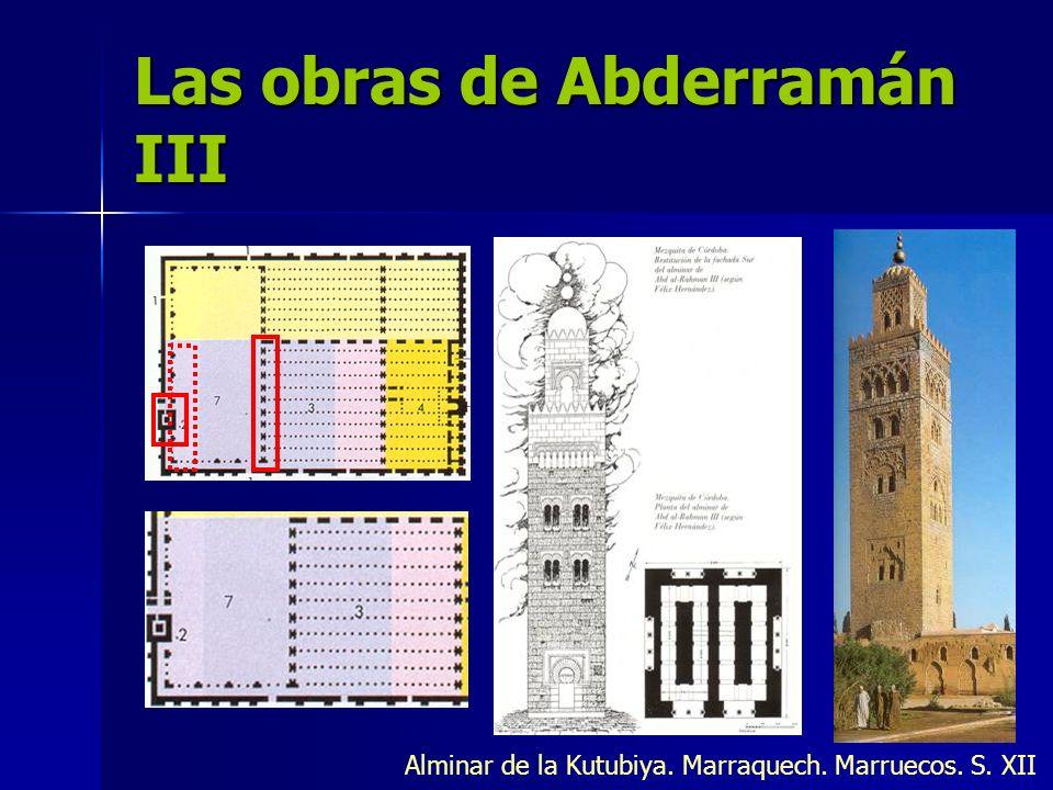 Las obras de Abderramán III
