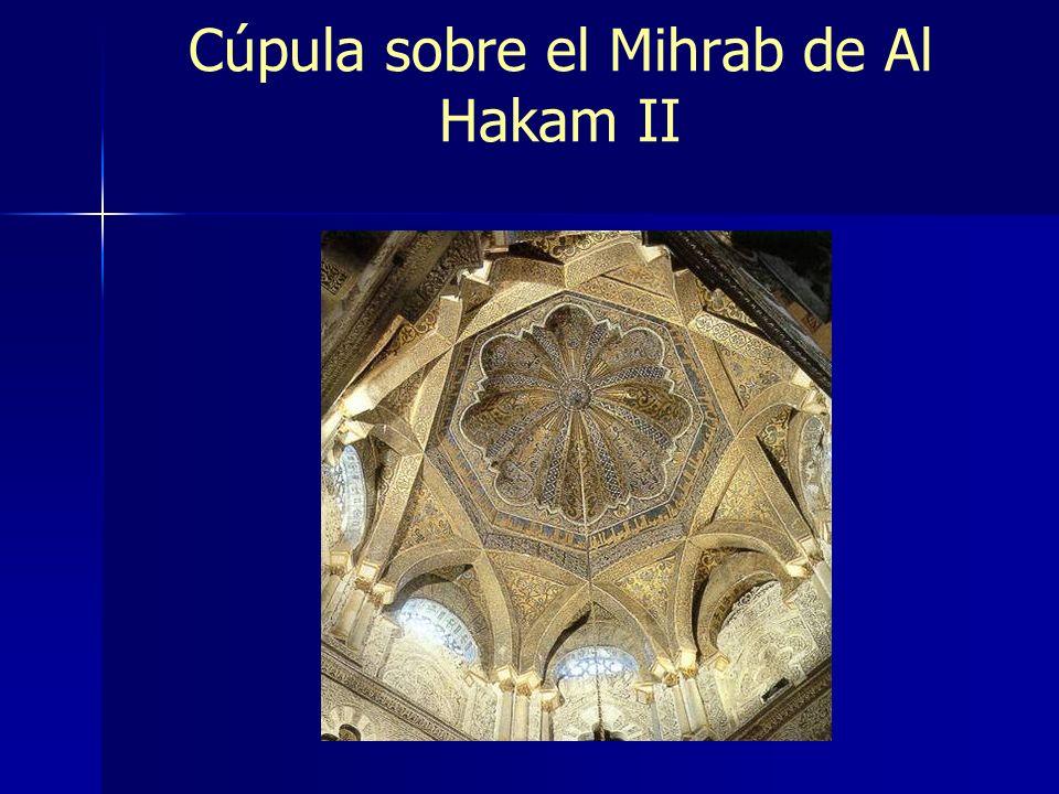 Cúpula sobre el Mihrab de Al Hakam II
