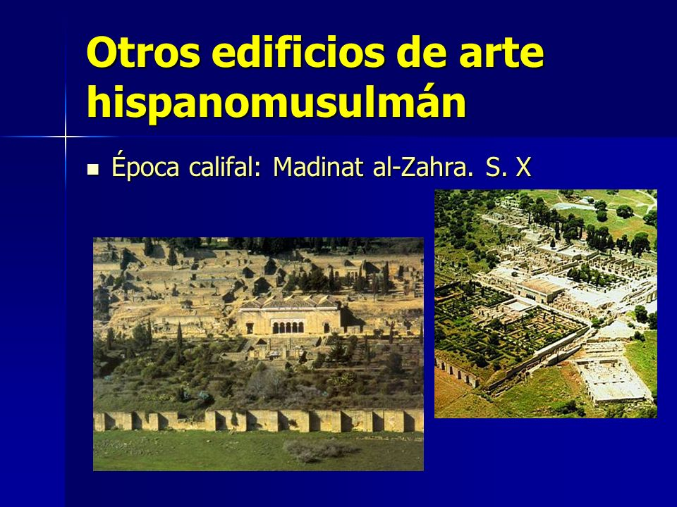Otros edificios de arte hispanomusulmán