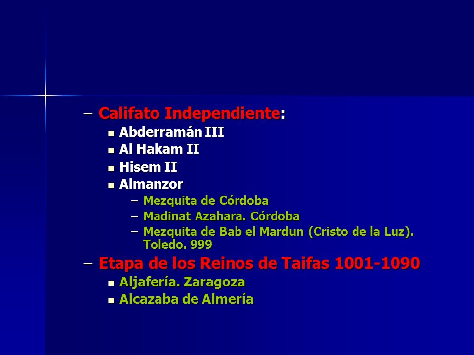 Califato Independiente: