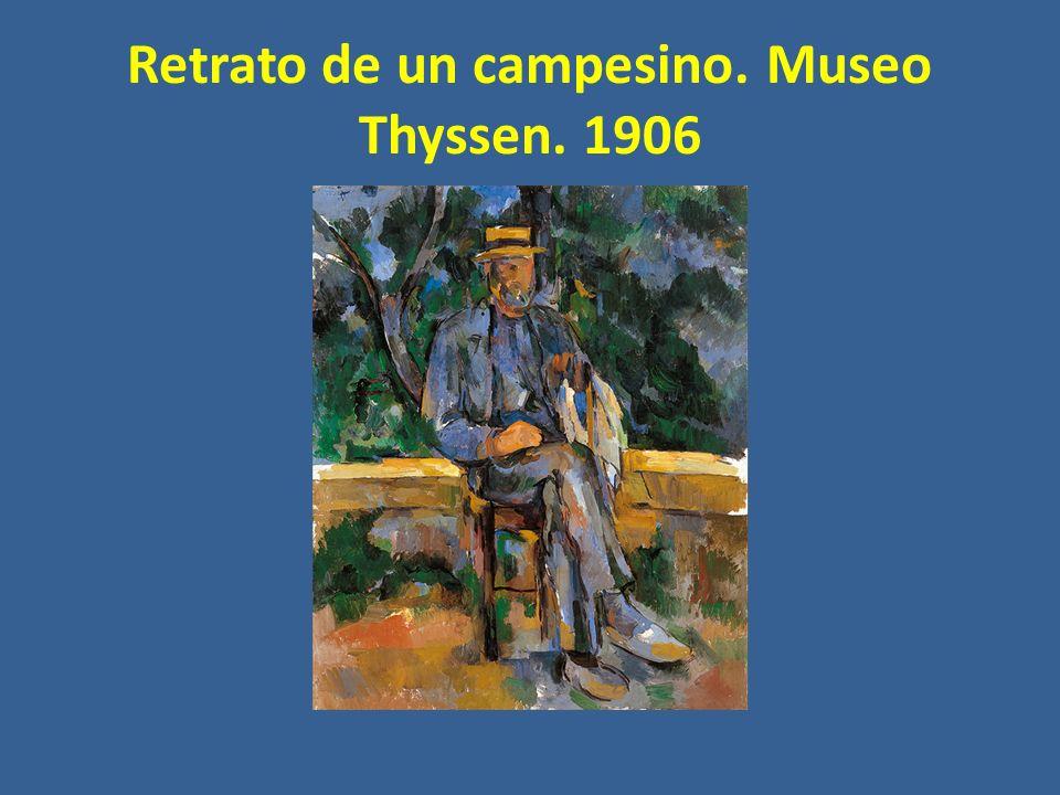 Retrato de un campesino. Museo Thyssen. 1906