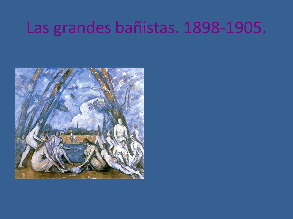 Las grandes bañistas. 1898-1905.
