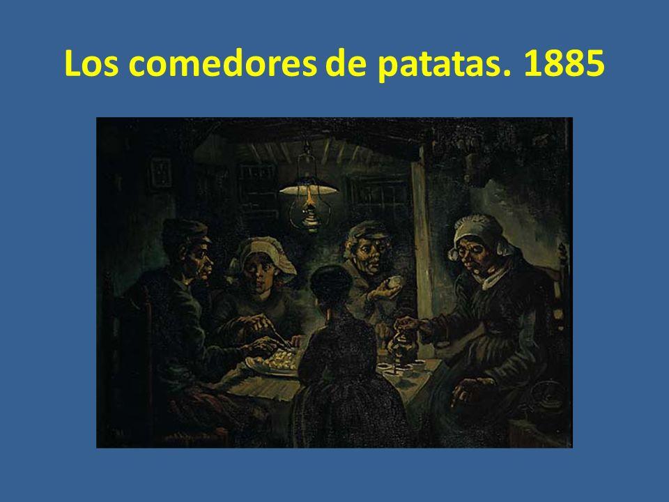 Los comedores de patatas. 1885