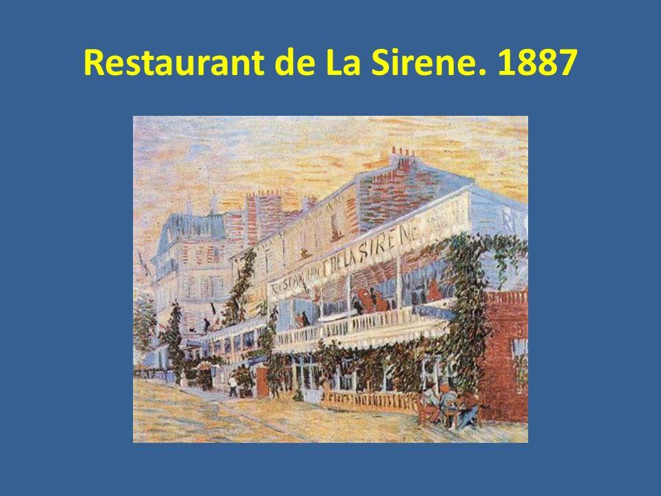 Restaurant de La Sirene. 1887