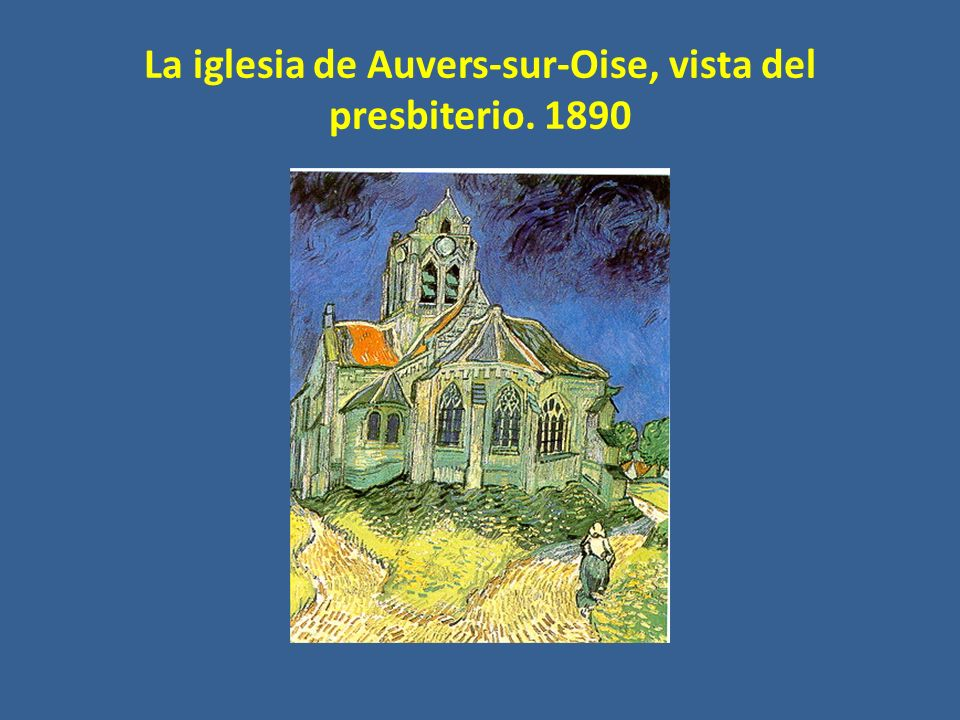 La iglesia de Auvers-sur-Oise, vista del presbiterio. 1890