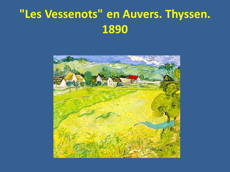 Les Vessenots en Auvers. Thyssen. 1890