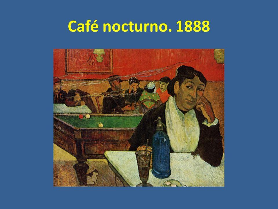 Café nocturno. 1888