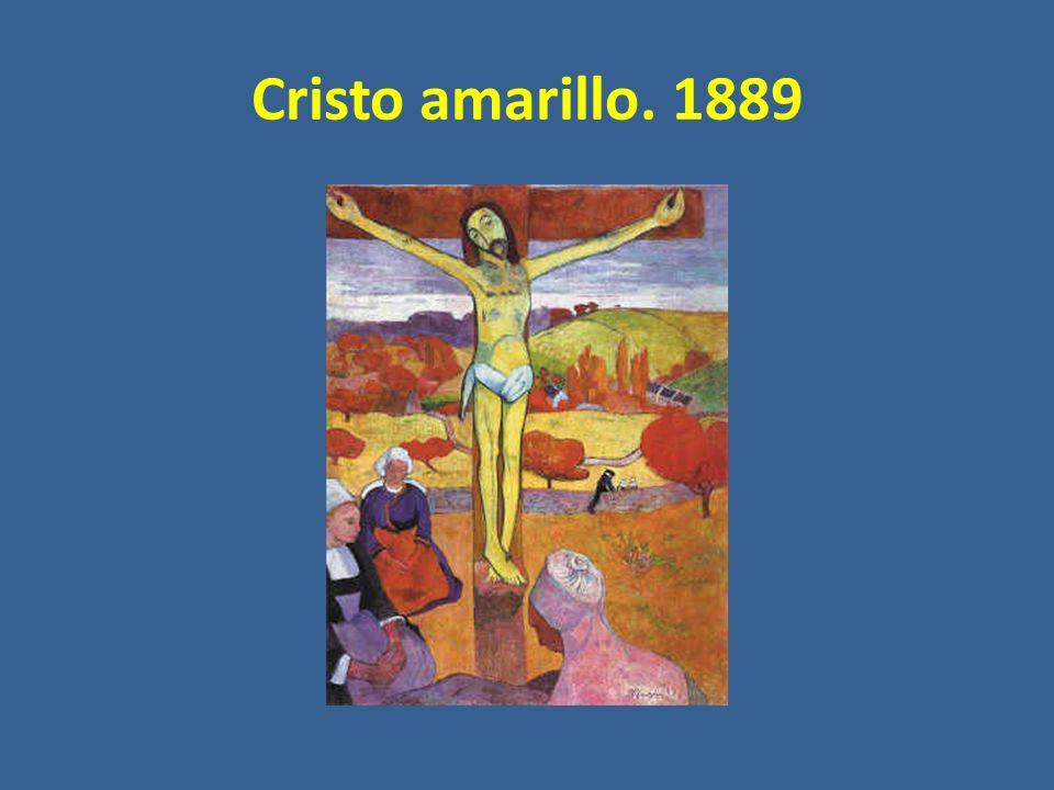 Cristo amarillo. 1889