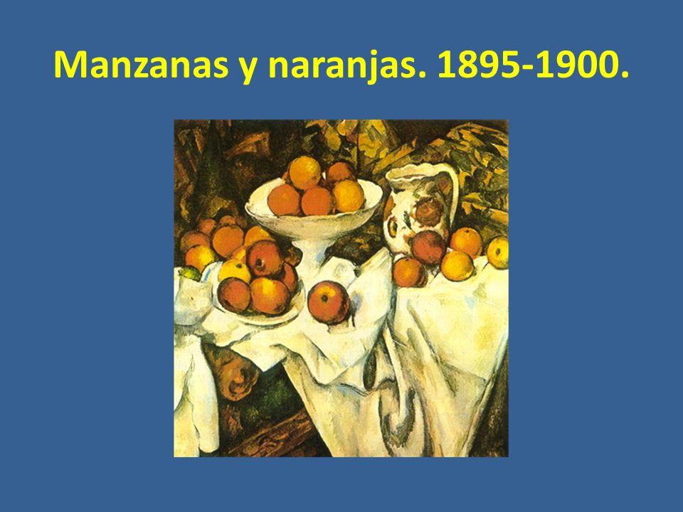 Manzanas y naranjas. 1895-1900.