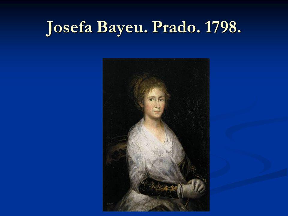Josefa Bayeu. Prado. 1798.