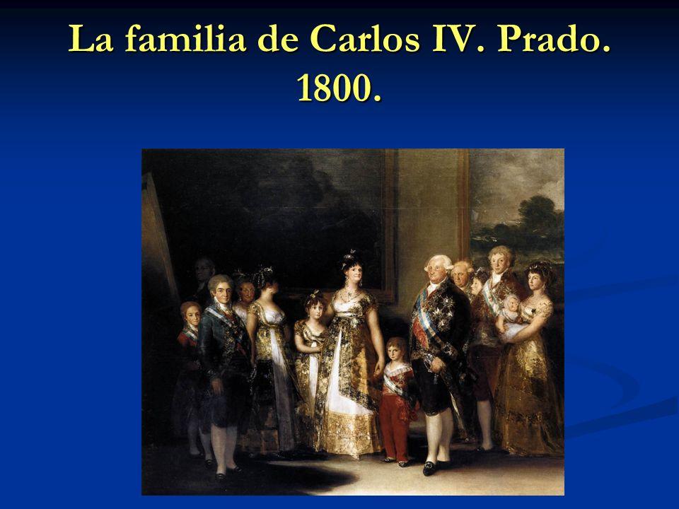 La familia de Carlos IV. Prado. 1800.