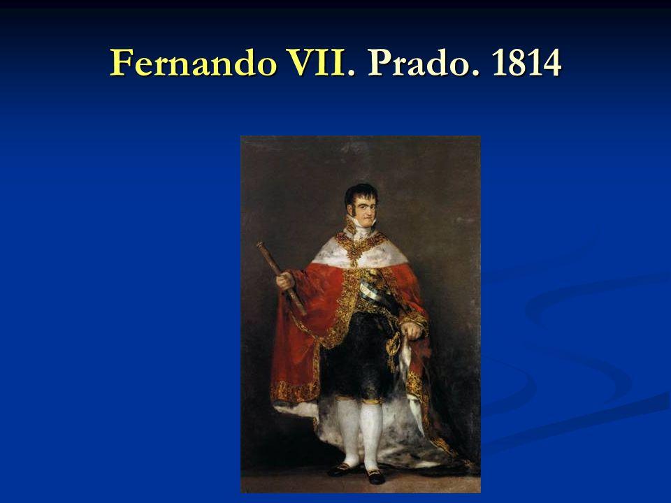 Fernando VII. Prado. 1814