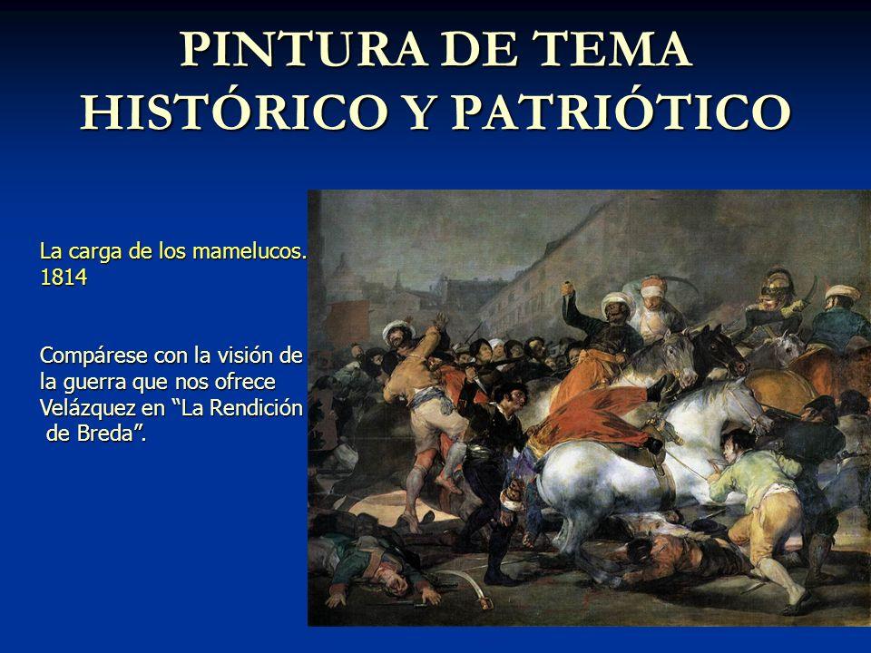 PINTURA DE TEMA HISTÓRICO Y PATRIÓTICO