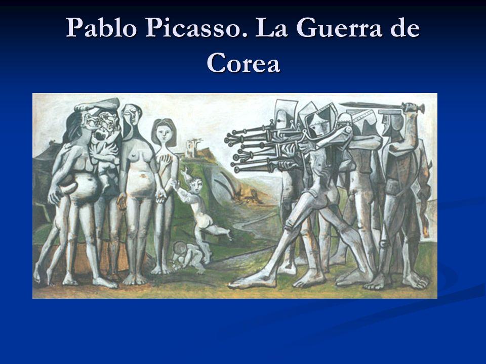 Pablo Picasso. La Guerra de Corea