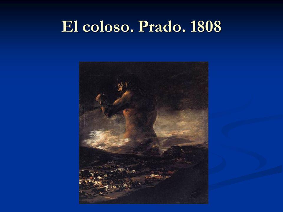 El coloso. Prado. 1808