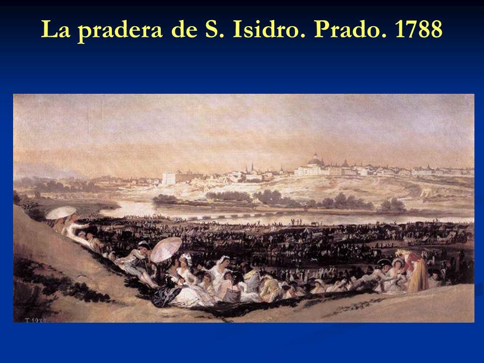 La pradera de S. Isidro. Prado. 1788