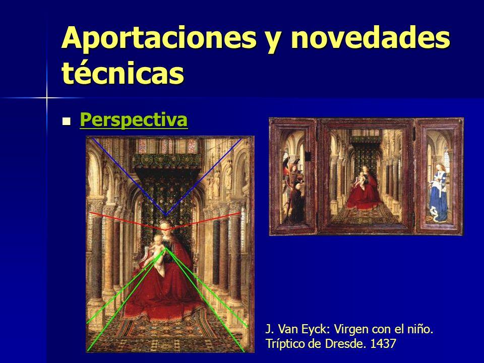 Aportaciones y novedades técnicas