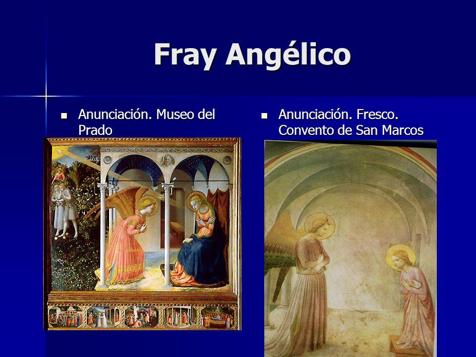 Fray Angélico Anunciación. Museo del Prado
