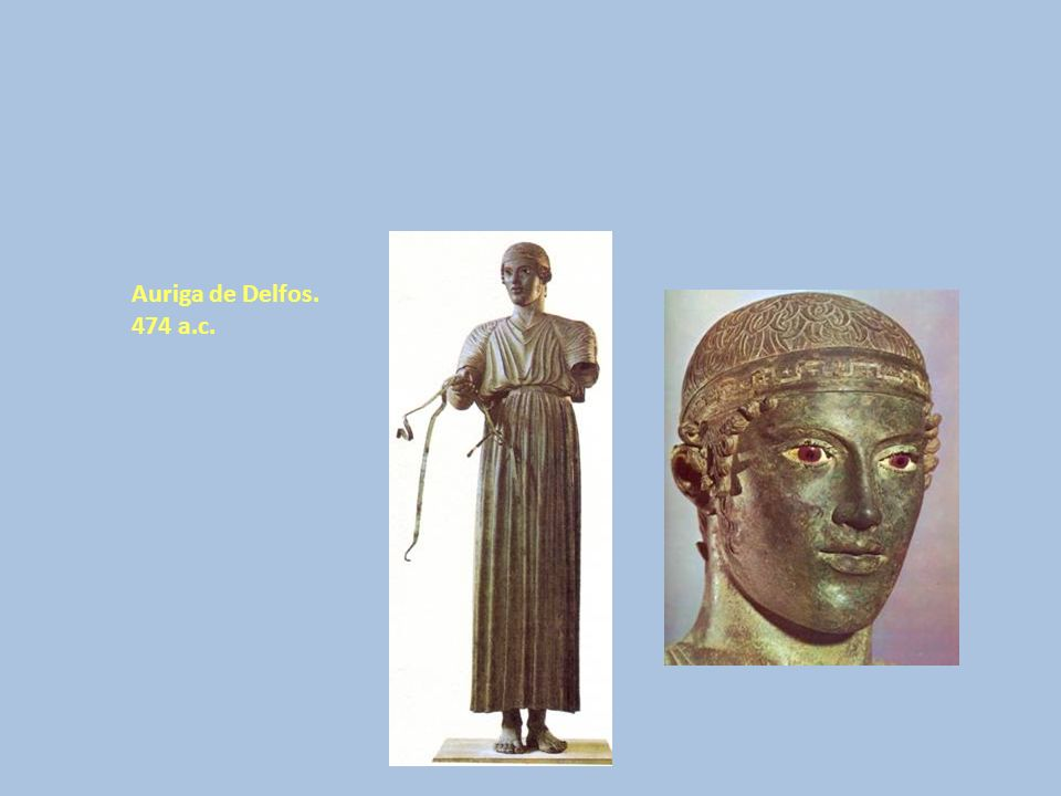 Auriga de Delfos. 474 a.c.