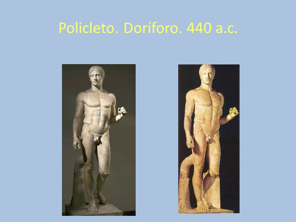 Policleto. Doríforo. 440 a.c.