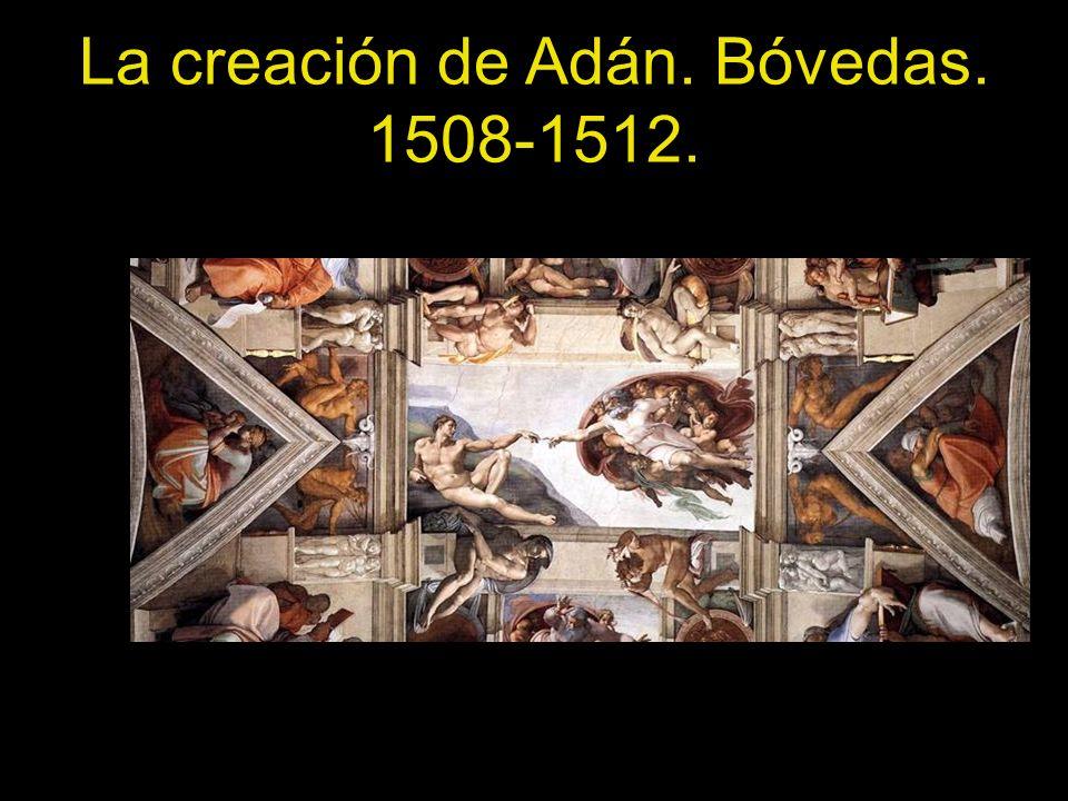 La creación de Adán. Bóvedas. 1508-1512.