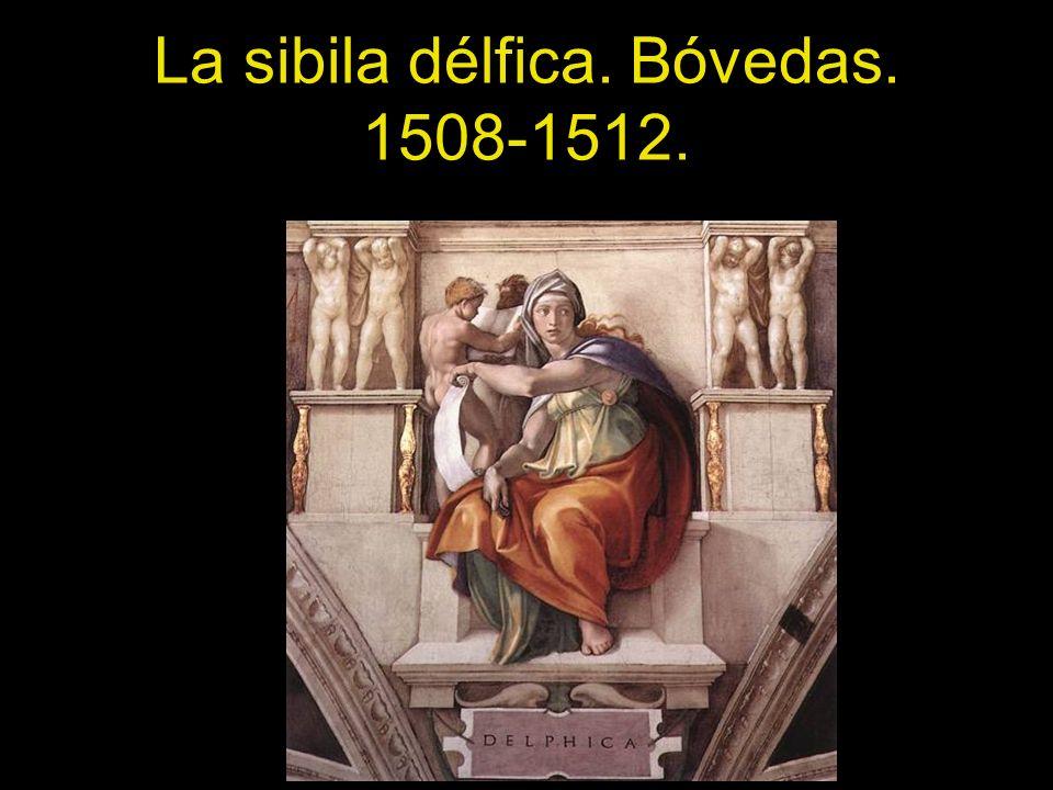La sibila délfica. Bóvedas. 1508-1512.