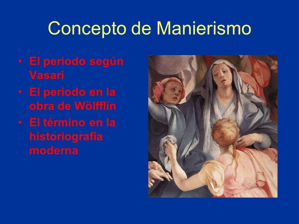 Concepto de Manierismo