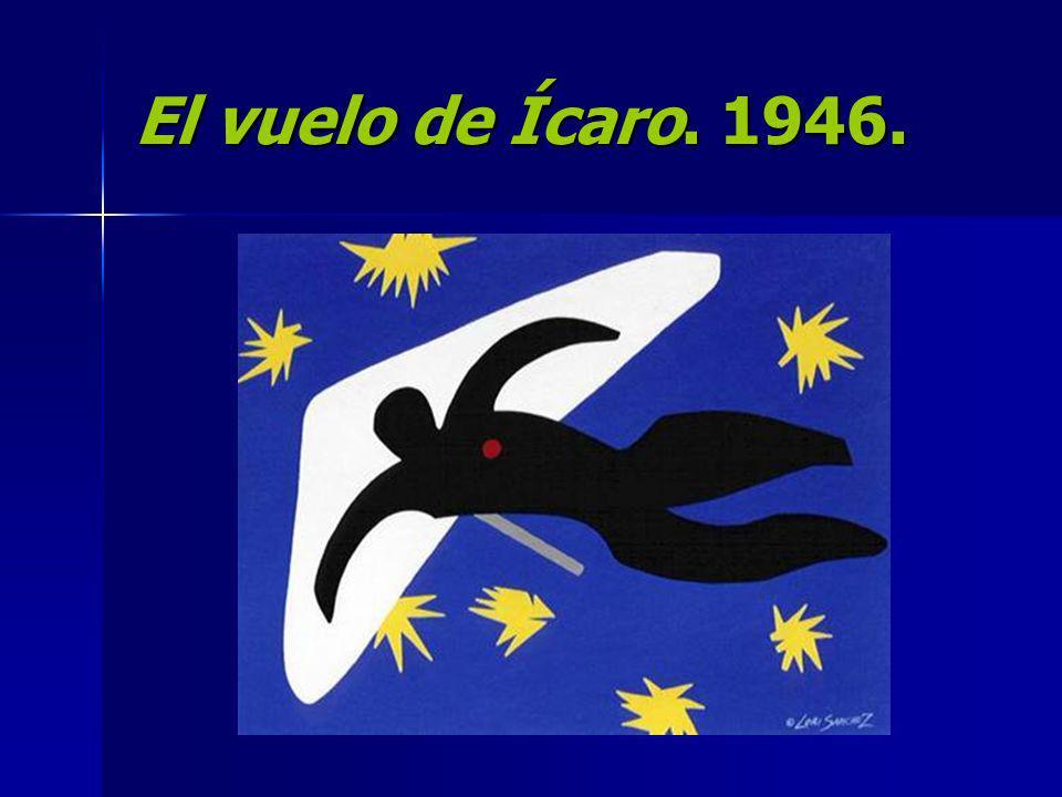 El vuelo de Ícaro. 1946.