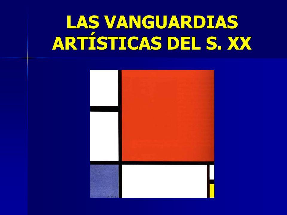 LAS VANGUARDIAS ARTÍSTICAS DEL S. XX