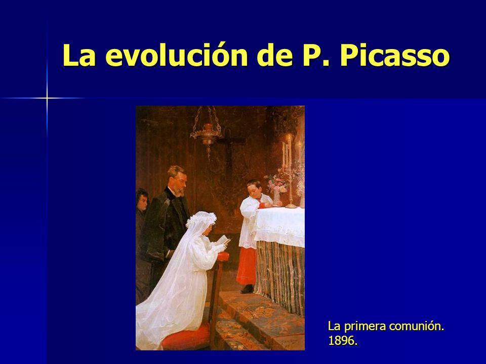 La evolución de P. Picasso