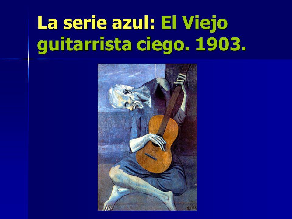 La serie azul: El Viejo guitarrista ciego. 1903.