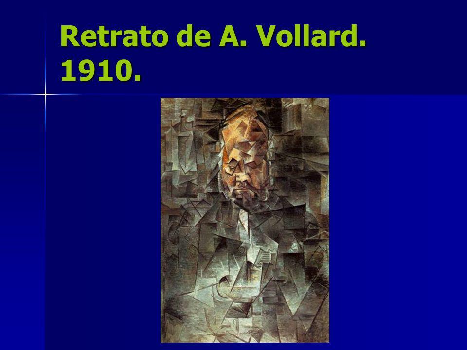 Retrato de A. Vollard. 1910.