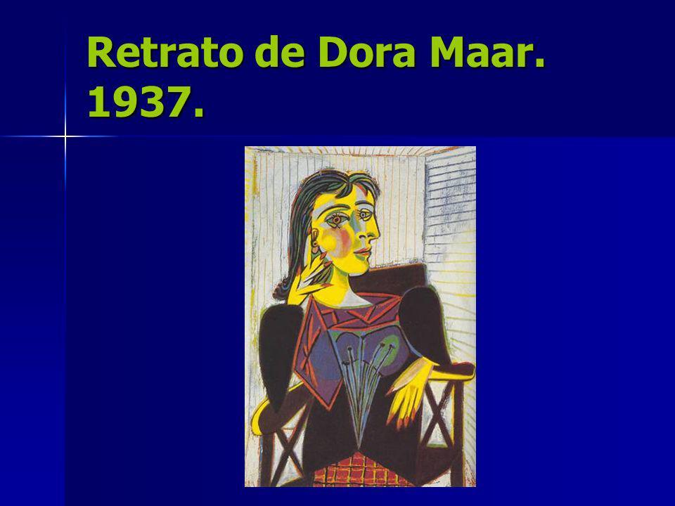 Retrato de Dora Maar. 1937.