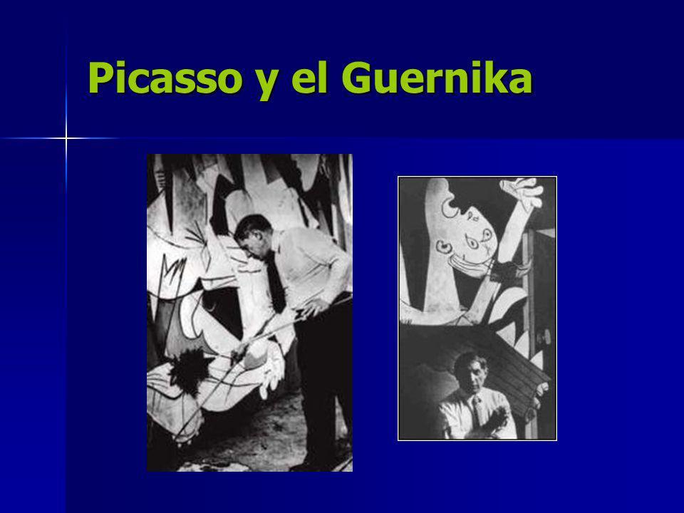 Picasso y el Guernika