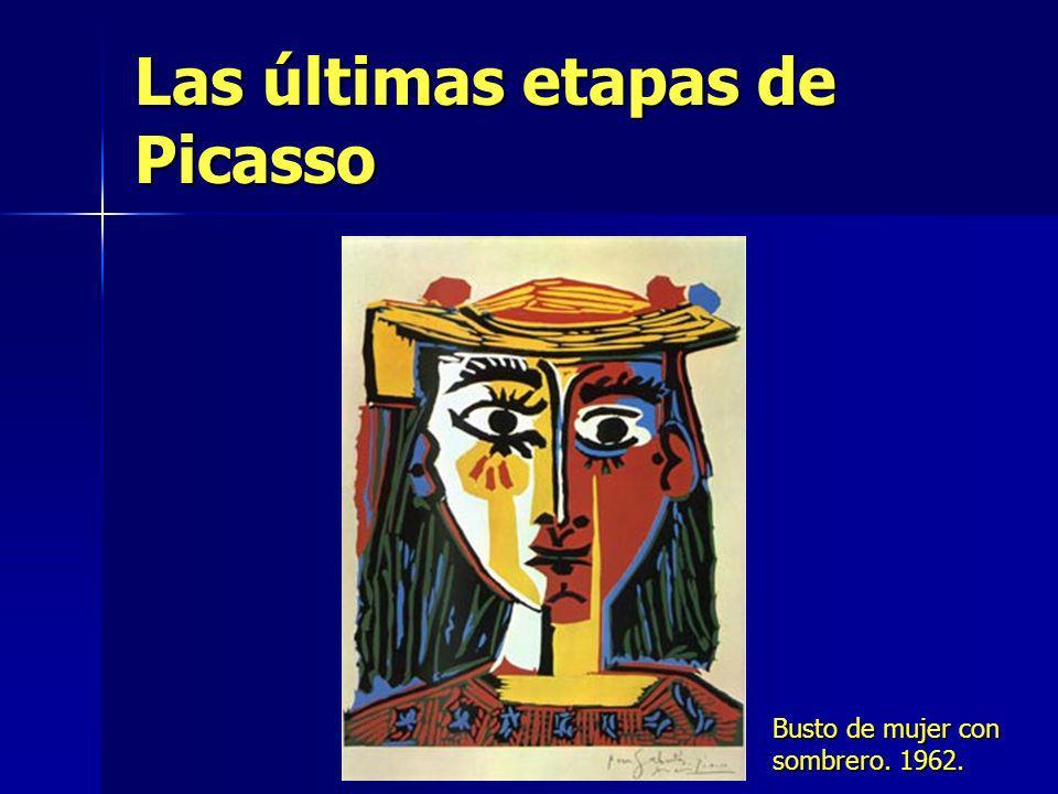 Las últimas etapas de Picasso