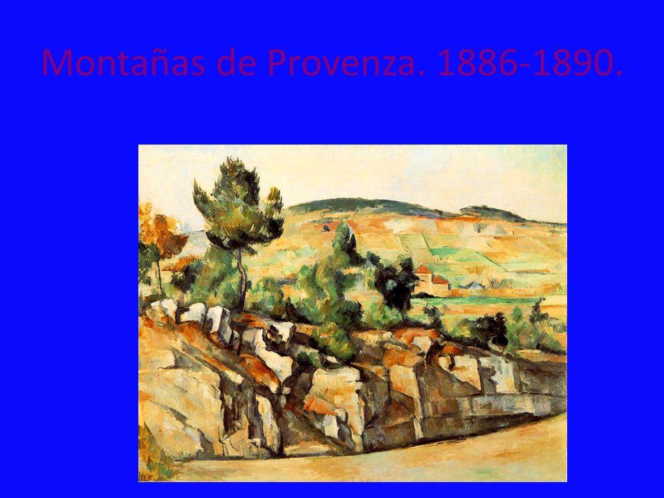 Montañas de Provenza. 1886-1890.