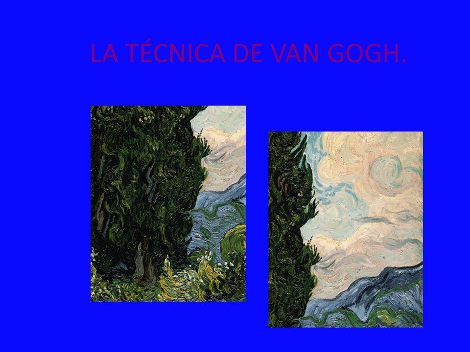 LA TÉCNICA DE VAN GOGH.