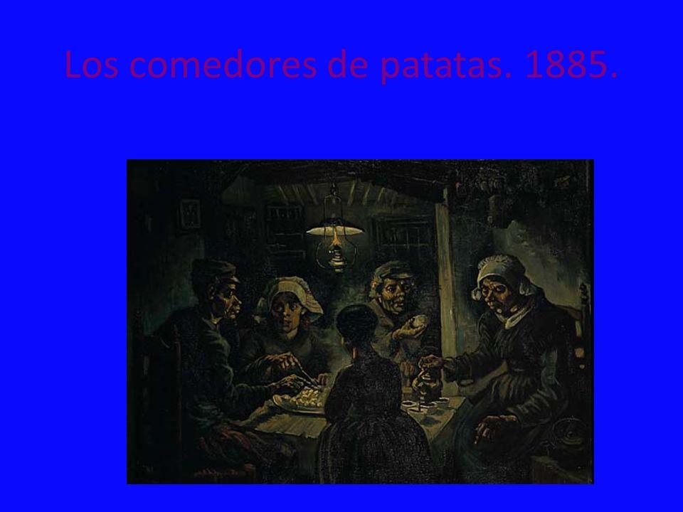Los comedores de patatas. 1885.