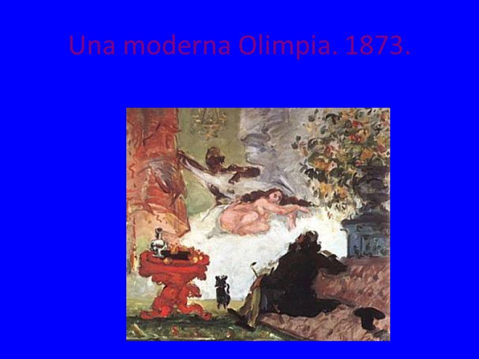 Una moderna Olimpia. 1873.