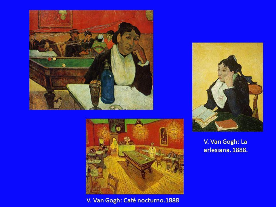 V. Van Gogh: La arlesiana. 1888.