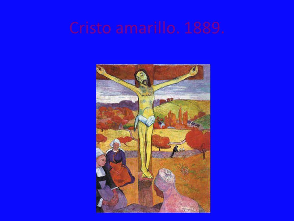 Cristo amarillo. 1889.