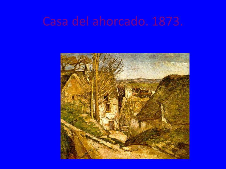 Casa del ahorcado. 1873.
