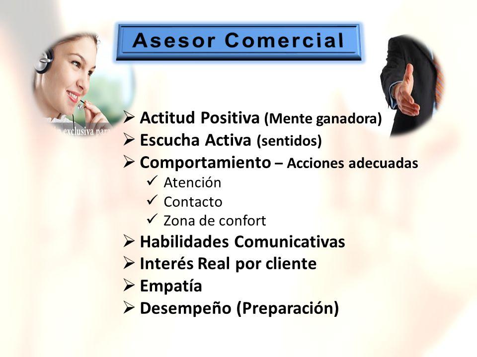 Asesor Comercial Actitud Positiva (Mente ganadora)