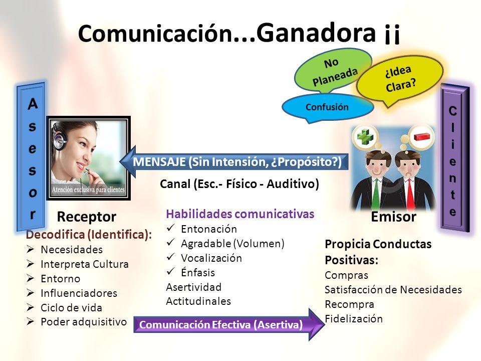 Comunicación...Ganadora ¡¡