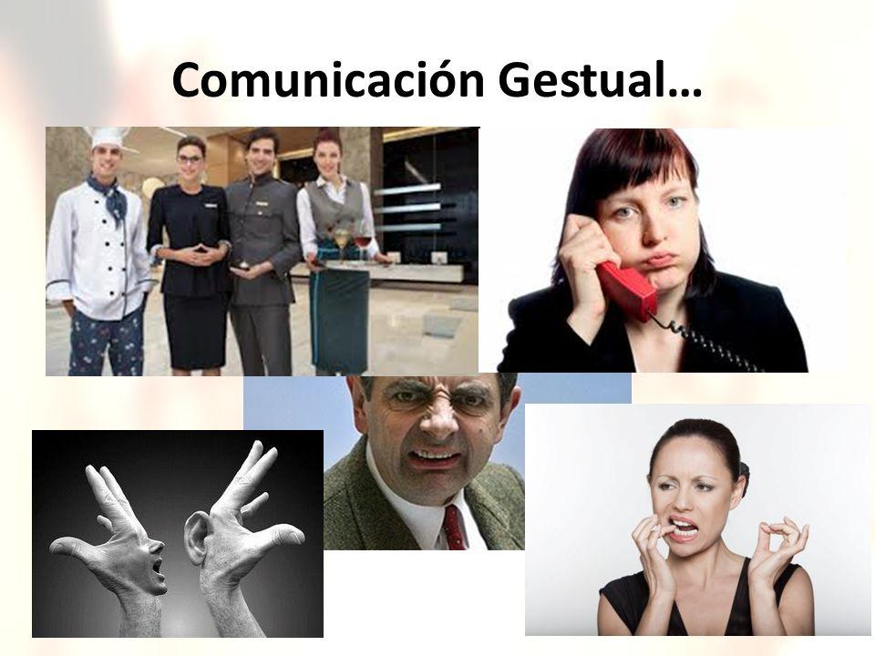 Comunicación Gestual…