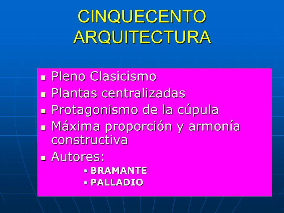 CINQUECENTO ARQUITECTURA