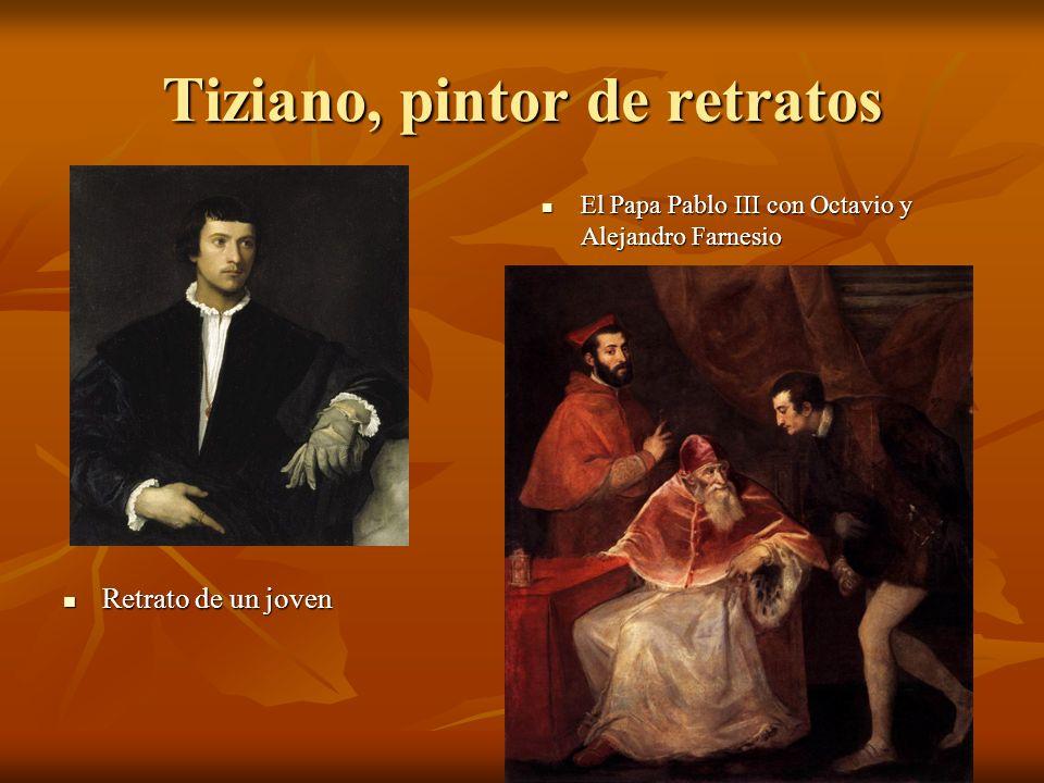 Tiziano, pintor de retratos