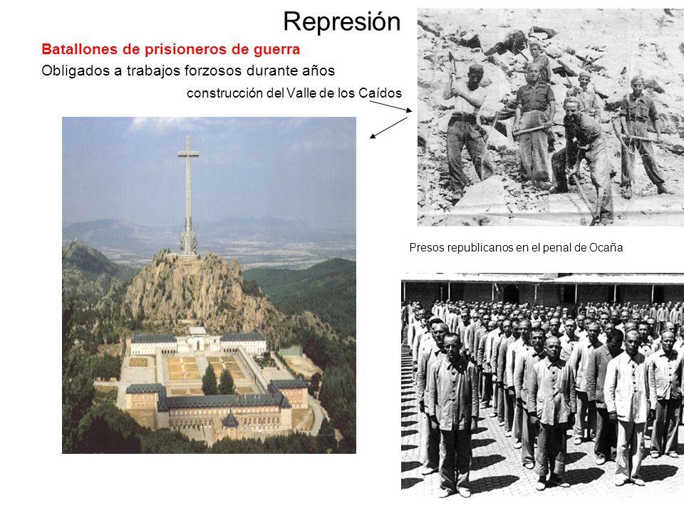 Represión Batallones de prisioneros de guerra