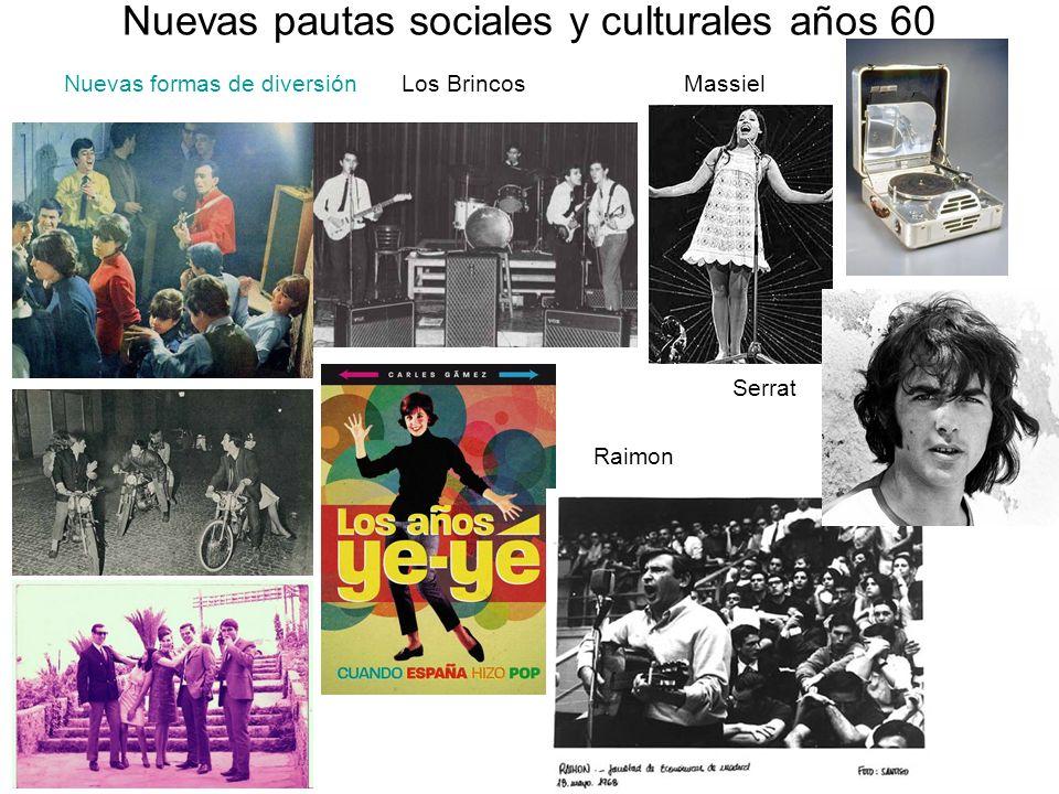 Nuevas pautas sociales y culturales años 60