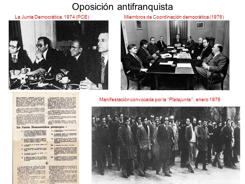 Oposición antifranquista
